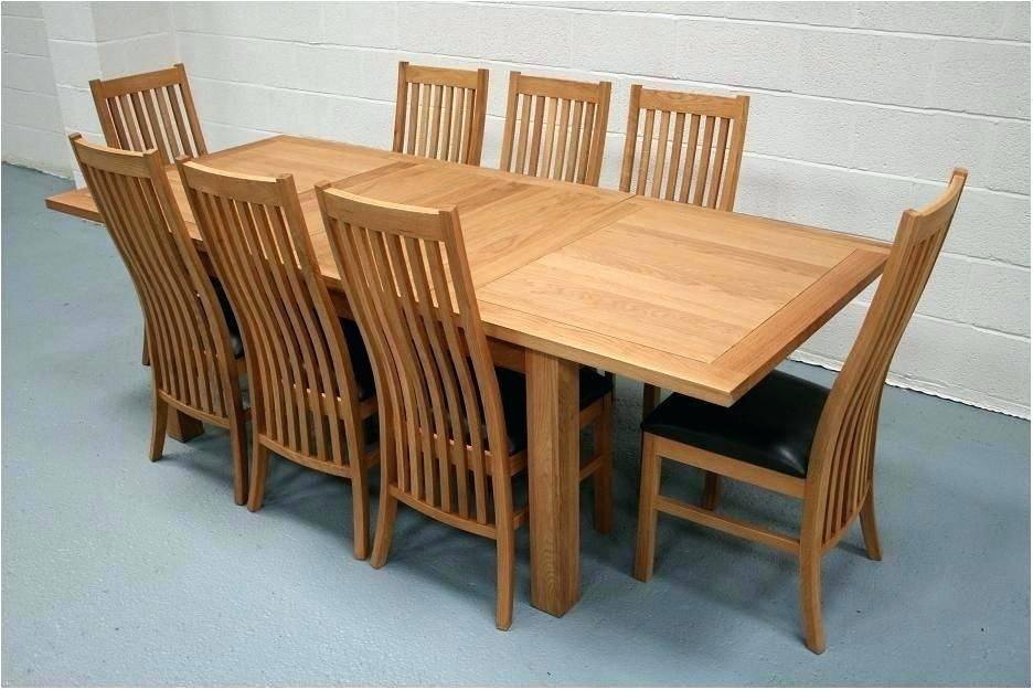 Oak Dining Furniture Sets Long Narrow Land Glass Table Smart Tables with Oak Dining Tables Sets