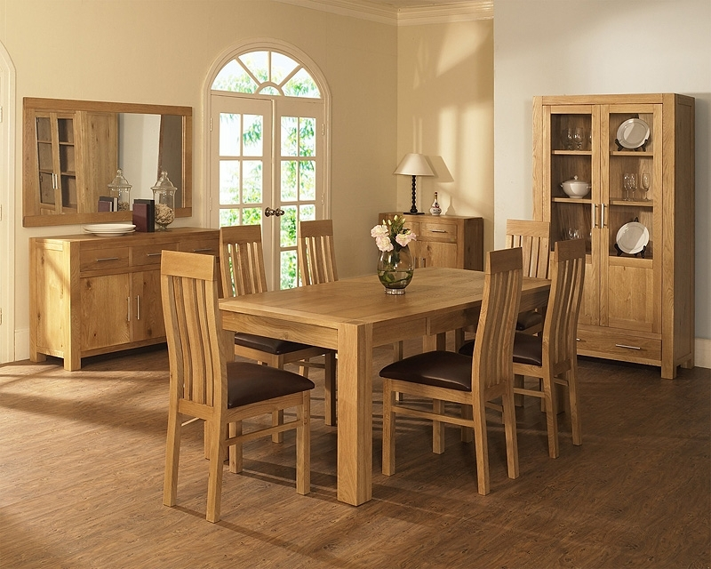 Oak Dining Room Table And Chairs – Cheekybeaglestudios Throughout Light Oak Dining Tables And Chairs (Photo 6 of 25)