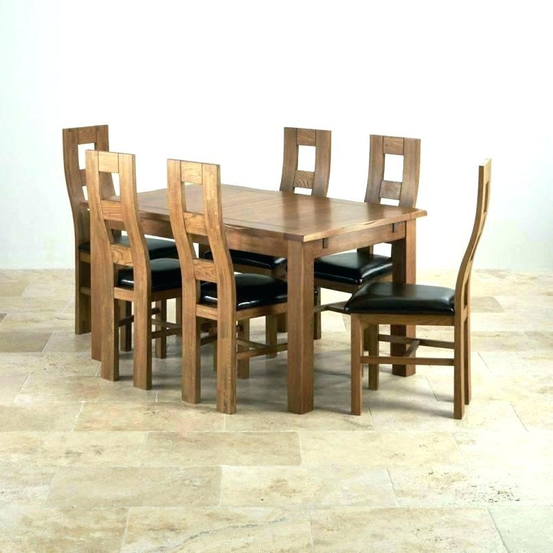 Oak Dining Room Table Chairs – Hiqua Pertaining To Second Hand Oak Dining Chairs (Photo 4 of 25)