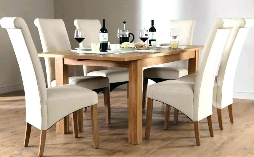 Oak Dining Set Excellent Oak Dining Table And Chairs Solid Oak In Oak Dining Tables With 6 Chairs (View 21 of 25)