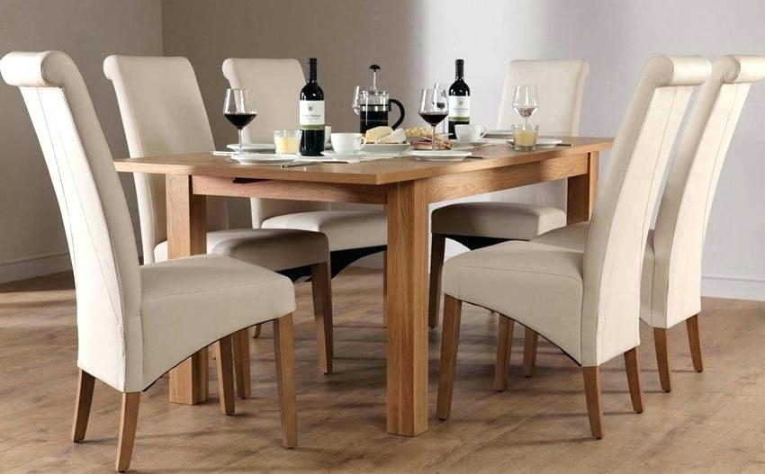 Oak Dining Table 4 Chairs – Ocane For Oval Oak Dining Tables And Chairs (Photo 13 of 25)