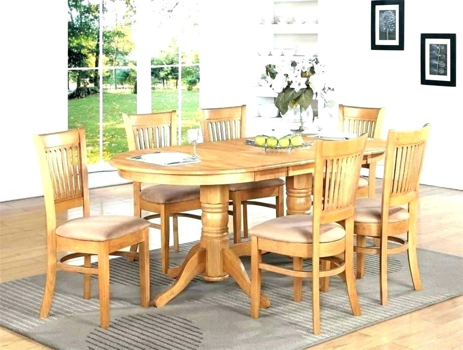 Oak Dining Table And 6 Chairs Ebay Royal Solid For Sale Furniture Regarding Second Hand Oak Dining Chairs (Photo 17 of 25)