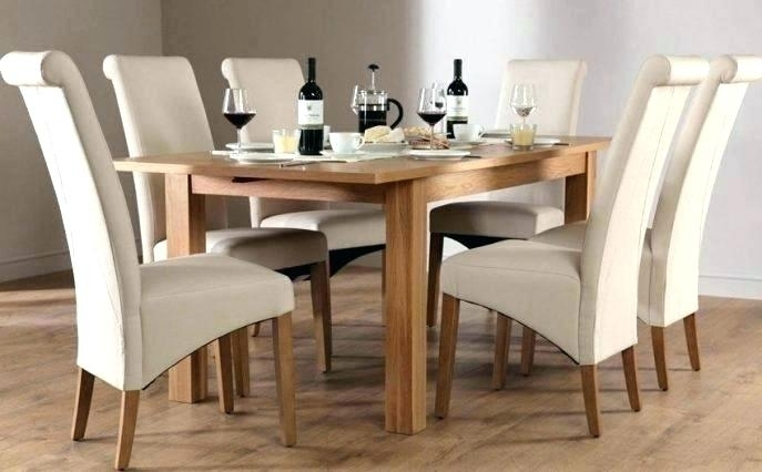 Oak Dining Table Chairs – Modern Computer Desk Cosmeticdentist In Oak Dining Tables Sets (Image 14 of 25)