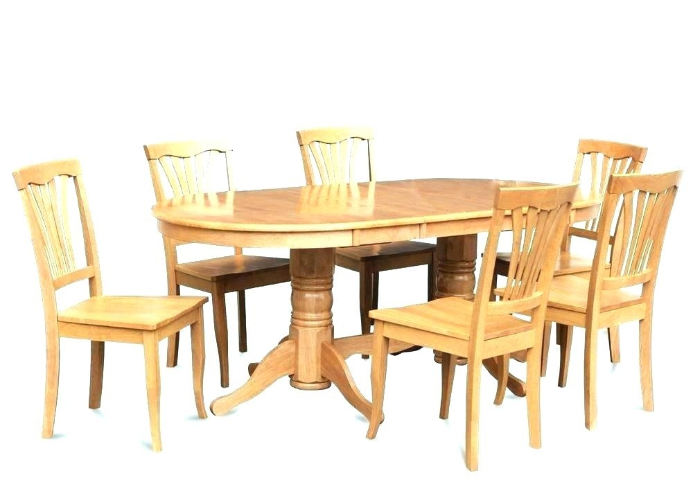 Oak Dining Table Chairs Oval And 4 – Alpenduathlon Regarding Oval Oak Dining Tables And Chairs (Photo 24 of 25)