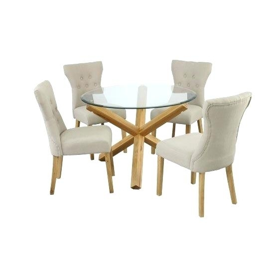 Oak Dining Table Chairs Uk – Long Computer Desk Crystalbank.club With Oak Glass Top Dining Tables (Photo 8 of 25)