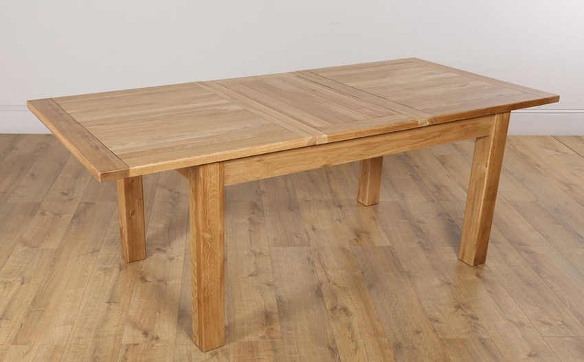 Oak Dining Table: Get The Best One Today – Darbylanefurniture Inside Extending Oak Dining Tables (View 2 of 25)