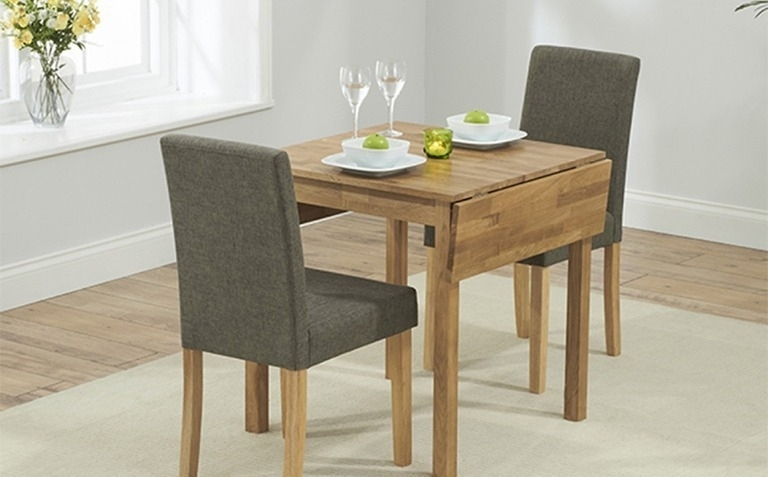 Featured Photo of Two Seater Dining Tables And Chairs