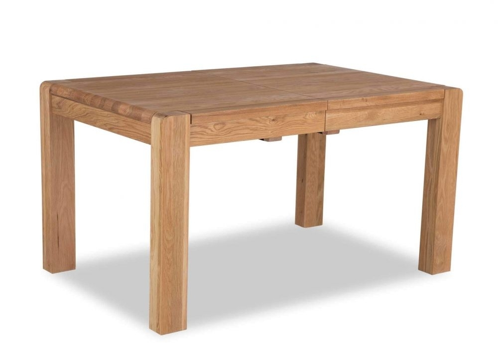 Oak Extendable Dining Table - Milton - Ez Living Furniture pertaining to Milton Dining Tables