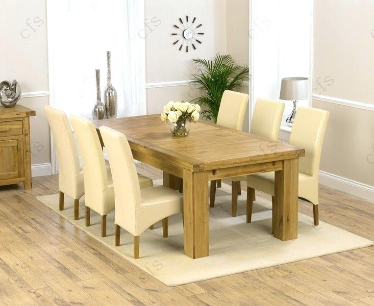 Oak Extending Dining Table – Emanhillawi With Extending Solid Oak Dining Tables (Image 19 of 25)