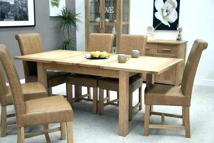 Oak Extending Dining Table – Emanhillawi within Oak Extending Dining Tables Sets