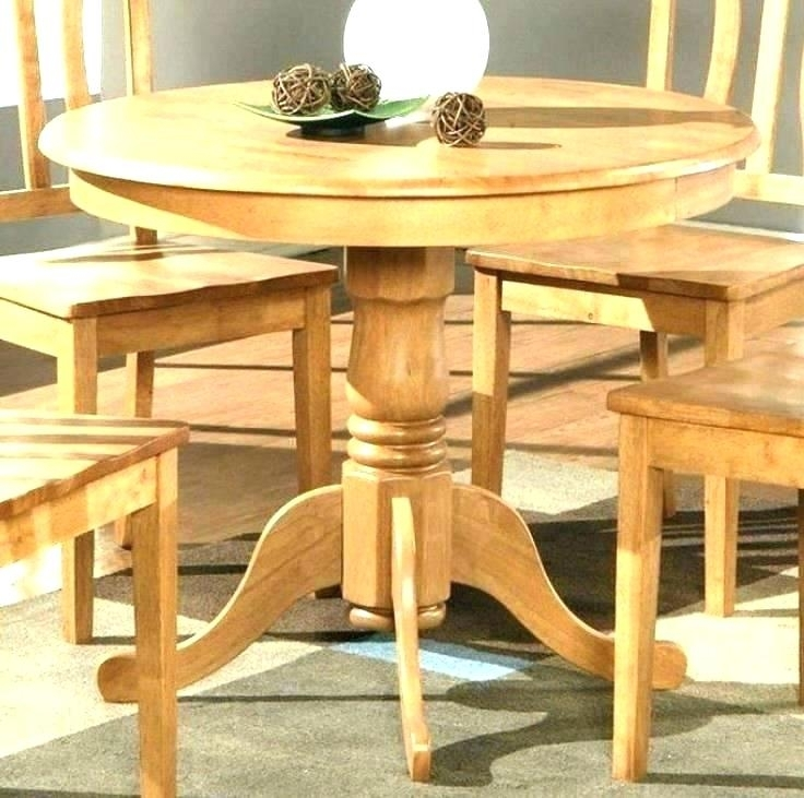 Oak Kitchen Table And Chairs Wood Dining Tables Luxury Impressive inside Small Oak Dining Tables