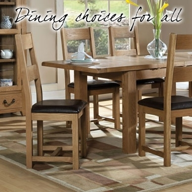 Oak & Painted Dining Tables - Dining Room Furniture - Old Creamery in Painted Dining Tables