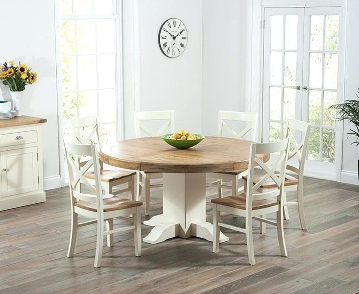 Oak Pedestal Dining Table And Chairs Solid Oak Round Pedestal Dining for Pedestal Dining Tables And Chairs