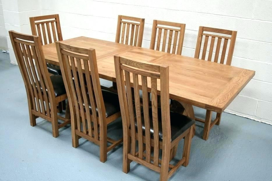 Oak Table And Chairs Oak Dining Chairs Ebay – Sardin In Oak Furniture Dining Sets (Photo 22 of 25)