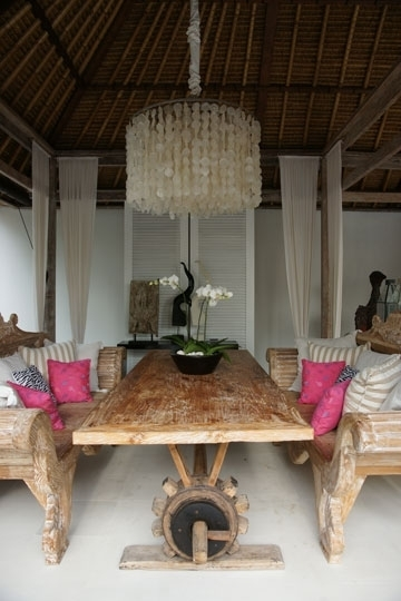 Oazia Aqua, Umalas-Kerobokan, Bali Villa with regard to Bali Dining Tables