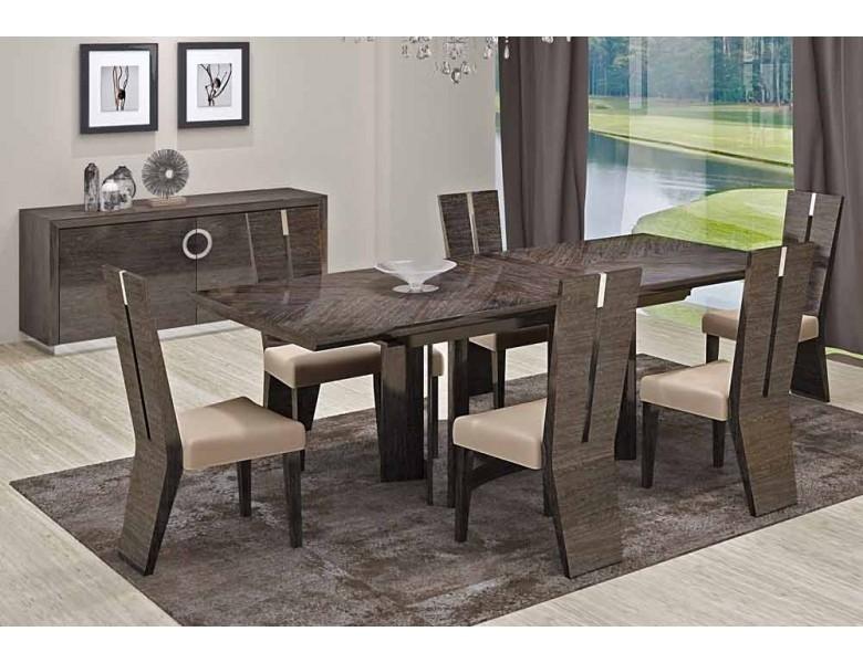 Octavia Italian Modern Dining Room Furniture Regarding Contemporary Dining Tables Sets (Image 25 of 25)