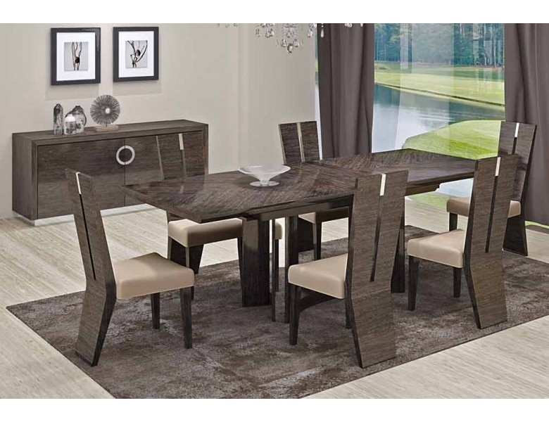 Octavia Italian Modern Dining Room Furniture With Modern Dining Room Sets (Image 24 of 25)