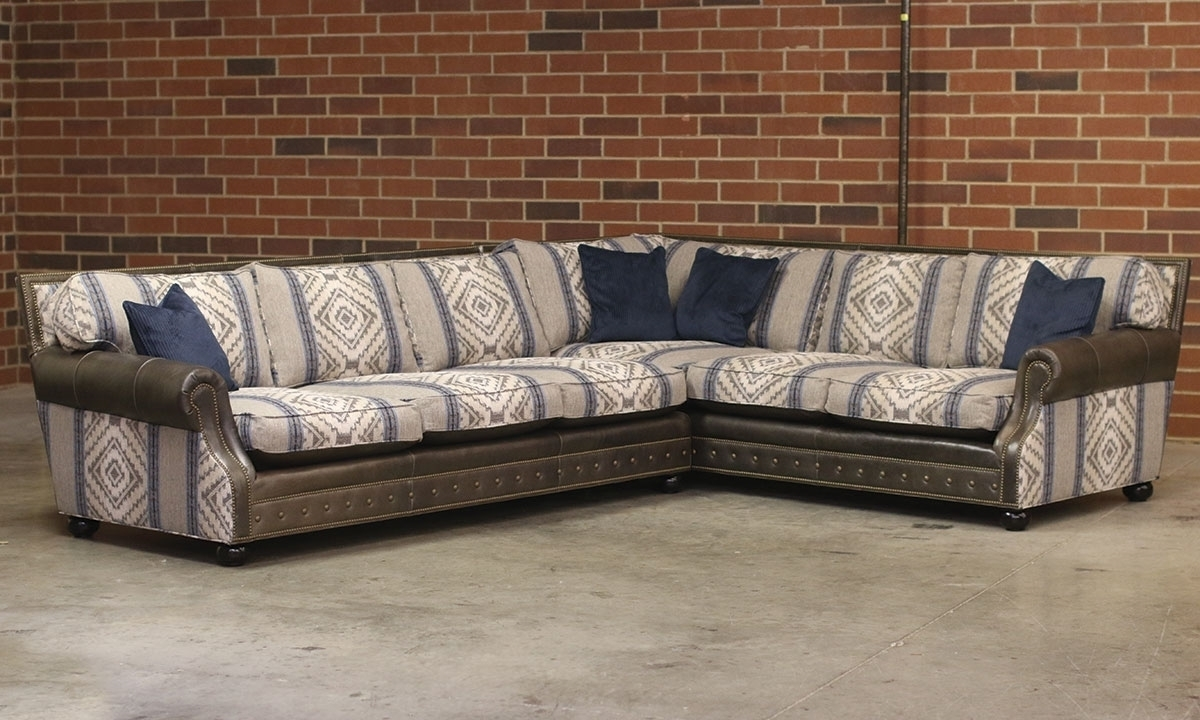Old Hickory Tannery 2 Piece Sectional | The Dump Deerfield | The Within Norfolk Grey 6 Piece Sectionals (Image 15 of 25)