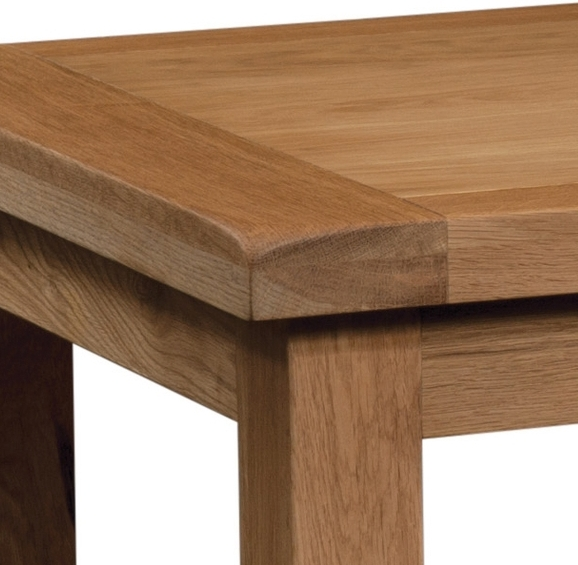 Old Mill Oak Small Extending Dining Table. Quality Oak Furniture For Small Oak Dining Tables (Photo 8 of 25)
