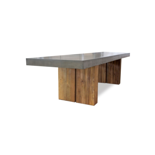 Olym Dining Table 87 Inch – Formoutdoors Intended For 87 Inch Dining Tables (Image 16 of 25)