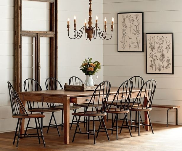 On My Recent Shopping Trip I Checked Out Joanna Gaines New Furniture Within Magnolia Home Array Dining Tables By Joanna Gaines (Photo 5 of 25)