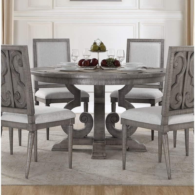 One Allium Way Candice Dining Table | Wayfair in Candice Ii Extension Rectangle Dining Tables