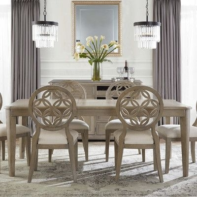One Allium Way Mousseau 5 Piece Dining Set | Allium, Dining Sets And Pertaining To Jaxon Grey 5 Piece Round Extension Dining Sets With Wood Chairs (Image 16 of 25)