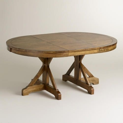 One Of My Favorite Discoveries At Worldmarket: Round To Oval X with regard to Round Extendable Dining Tables