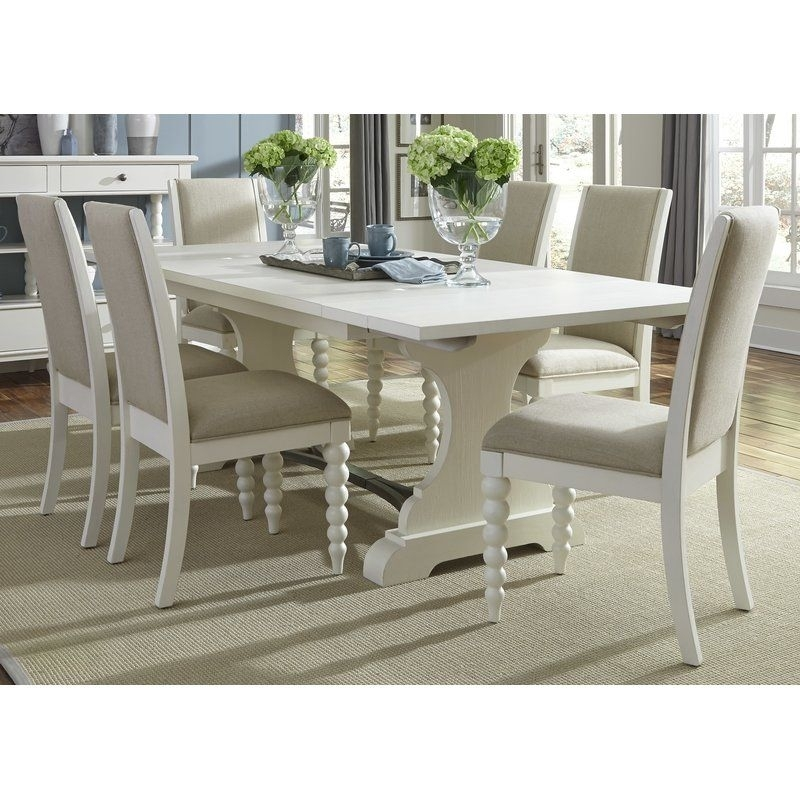 Opal 7 Piece Dining Set | Beach Decor | Pinterest | Furniture Ideas in Candice Ii 7 Piece Extension Rectangular Dining Sets With Uph Side Chairs