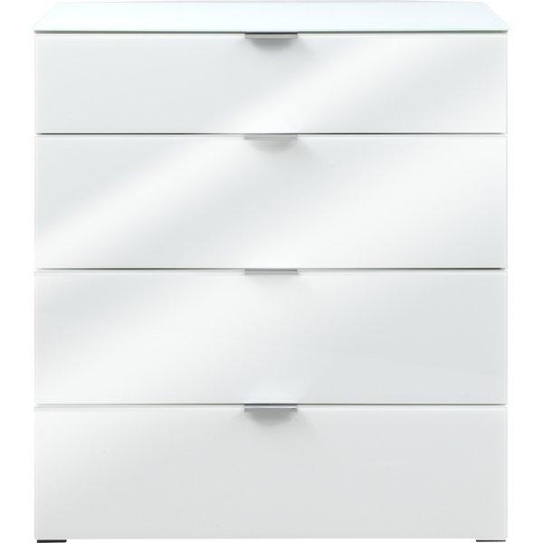 Orren Ellis Helms Wide 4 Drawer Dresser | Wayfair regarding Helms 6 Piece Rectangle Dining Sets
