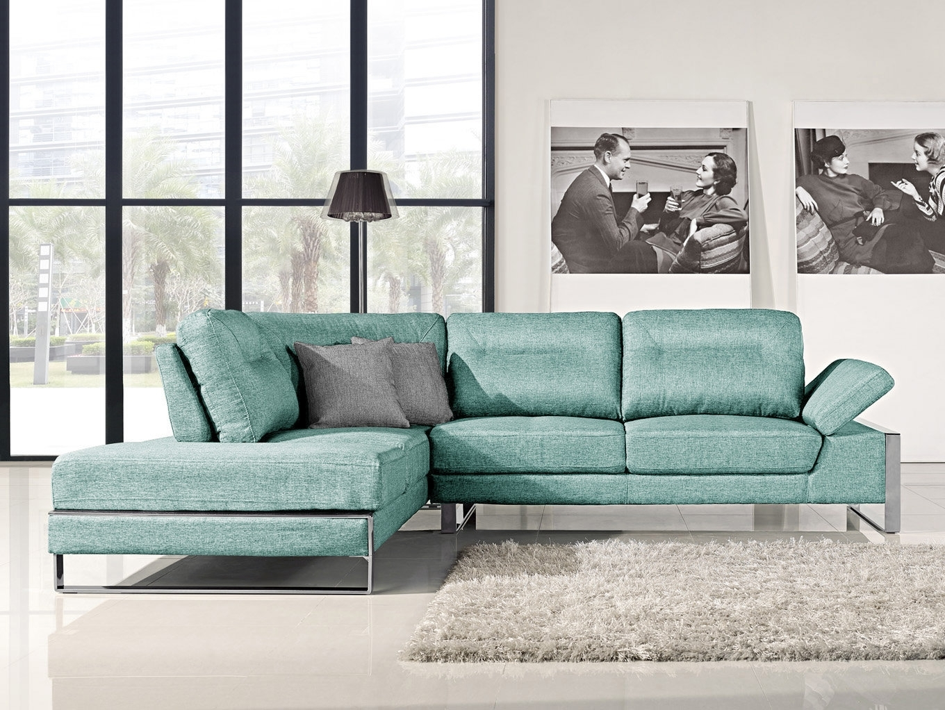 Orren Ellis Kealy Sofa Reclining Sectional | Wayfair Within Collins Sofa Sectionals With Reversible Chaise (View 25 of 25)