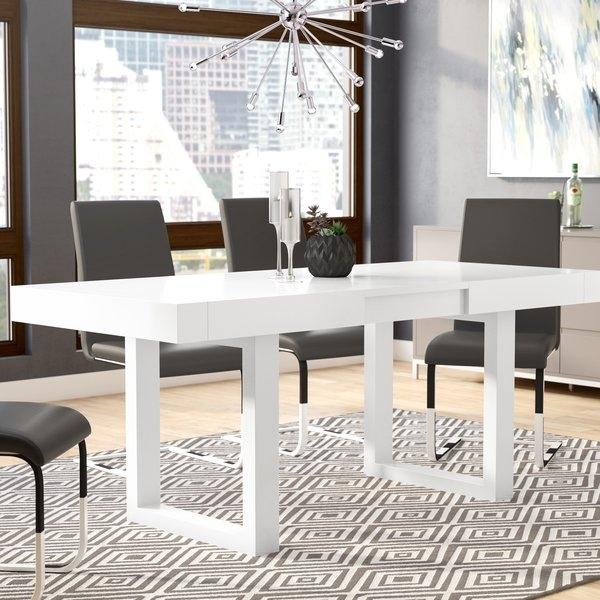 Orren Ellis Marissa Expandable Dining Table & Reviews | Wayfair With Regard To Delfina 7 Piece Dining Sets (Image 22 of 25)