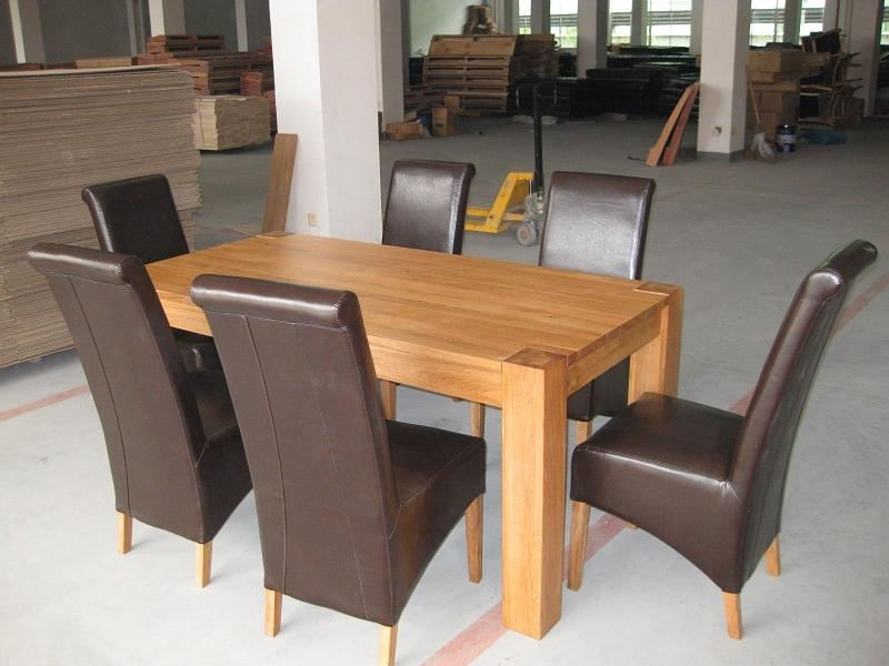 Oslo Solid Oak Dining Furniture| Oak Sideboards| Large Round Dining Within Dining Tables With Large Legs (Image 21 of 25)