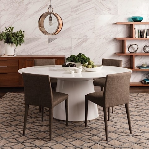 Otago Oval Dining Table White | High Gloss Stainless | Modern Digs In White High Gloss Oval Dining Tables (View 7 of 25)