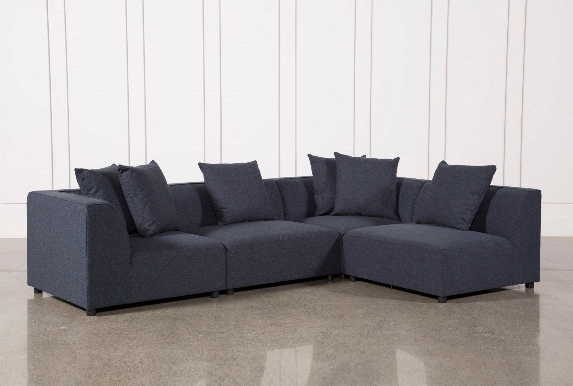 Our Clayton 4 Piece Sectional Allows You To Enjoy An Ultra Modern In Aidan 4 Piece Sectionals (Image 20 of 25)