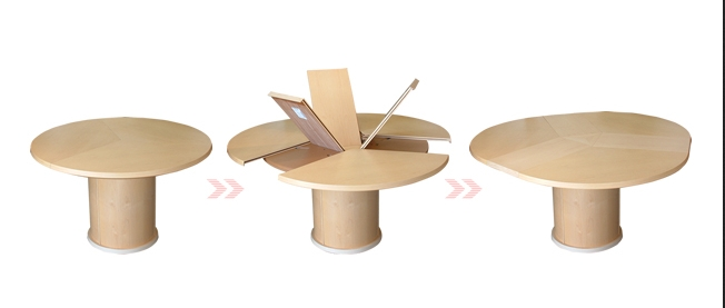 Our Favourite Contemporary Extending Dining Tables | 4Living Blog pertaining to Extending Round Dining Tables