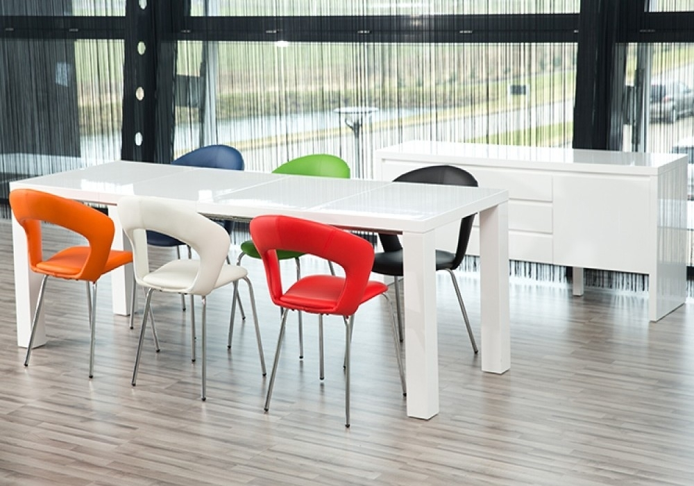 Our Frances Dining Table In Detail – Fads Blogfads Blog With Regard To White Gloss Extending Dining Tables (Image 12 of 25)