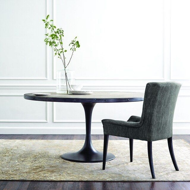 Our Popular Kenton #dining Table Is A Fresh Twist On The Classic Pertaining To Chandler 7 Piece Extension Dining Sets With Wood Side Chairs (View 7 of 25)