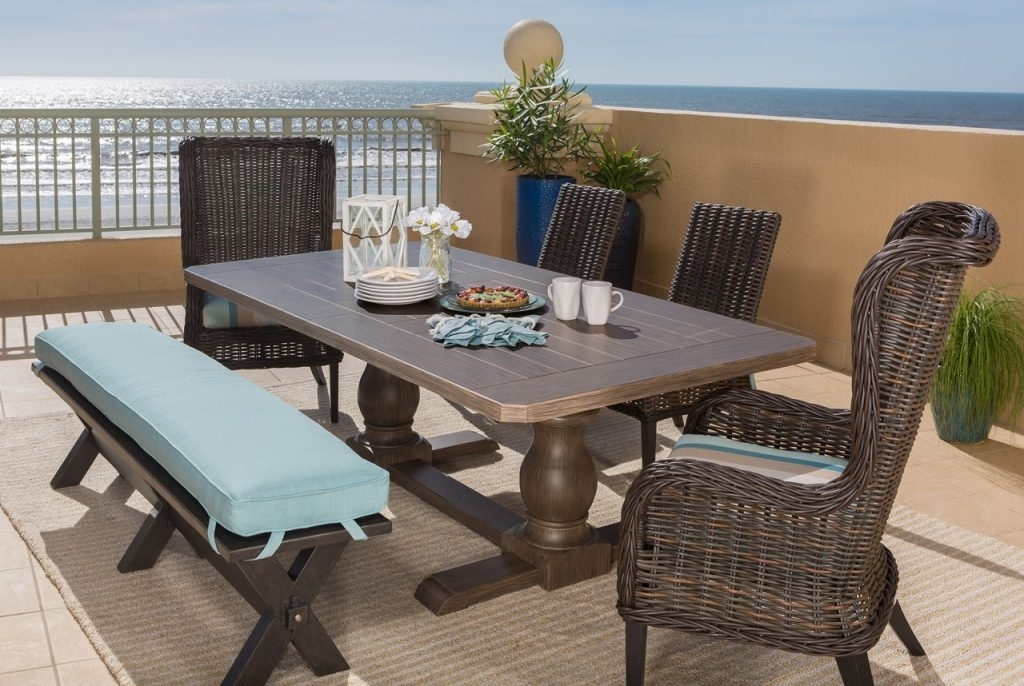 Outdoor Dining Furniture | Atlanta Home & Patio | Atlanta Home And Patio Pertaining To Laurent Rectangle Dining Tables (Photo 16 of 25)