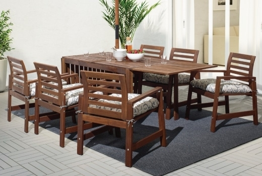 Outdoor Dining Furniture, Dining Chairs & Dining Sets – Ikea Throughout Outdoor Dining Table And Chairs Sets (Photo 2 of 25)