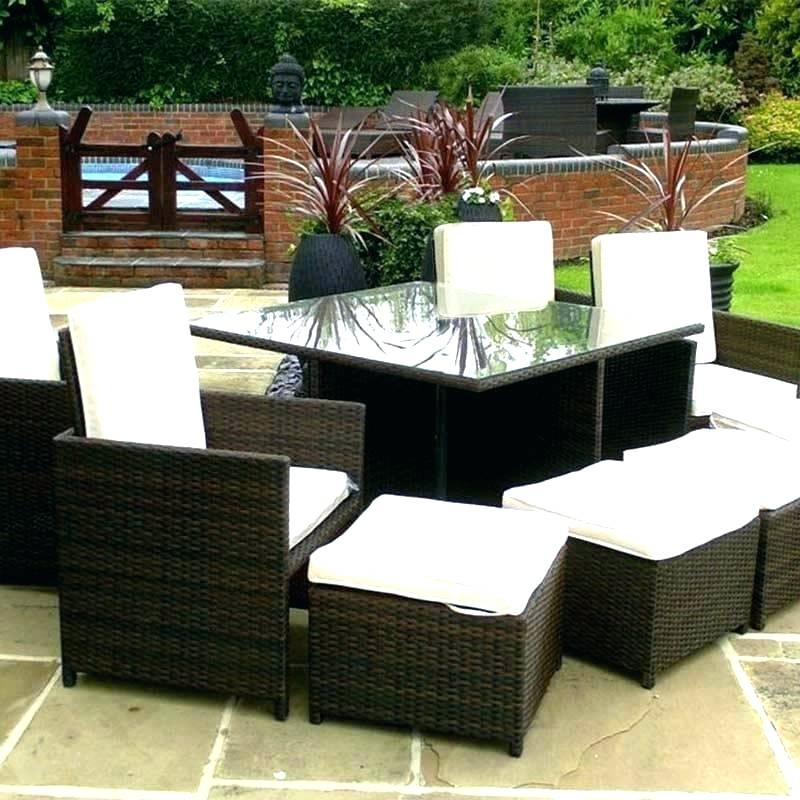 Outdoor Dining Sets For 8 8 Garden Table 8 Seat Outdoor Dining Table Inside 8 Seat Outdoor Dining Tables (Image 20 of 25)