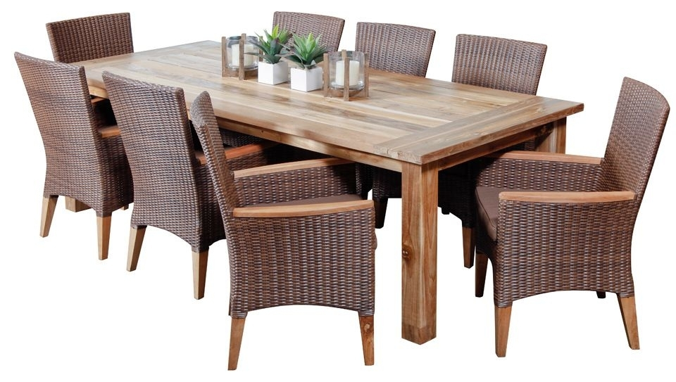 Outdoor Dining Sets - Outdoor Dining Furniture | Pinterest | Outdoor within 8 Seat Outdoor Dining Tables