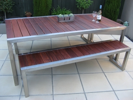 Outdoor Dining Table | Gavin Cox Furniture for Gavin Dining Tables
