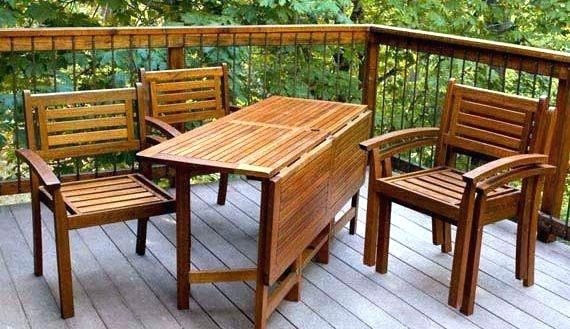 Outdoor Folding Dining Tables – Ocane With Folding Outdoor Dining Tables (Photo 17 of 25)