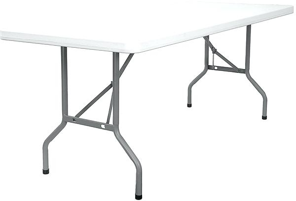 Outdoor Folding Table Small Outdoor Folding Table Small White Throughout Folding Outdoor Dining Tables (Photo 21 of 25)