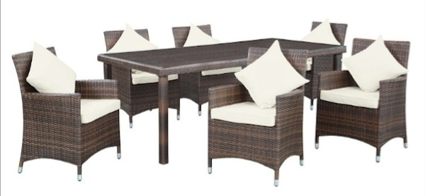 Outdoor Patio Dining Tables, Chairs And Sets (Image 15 of 25)