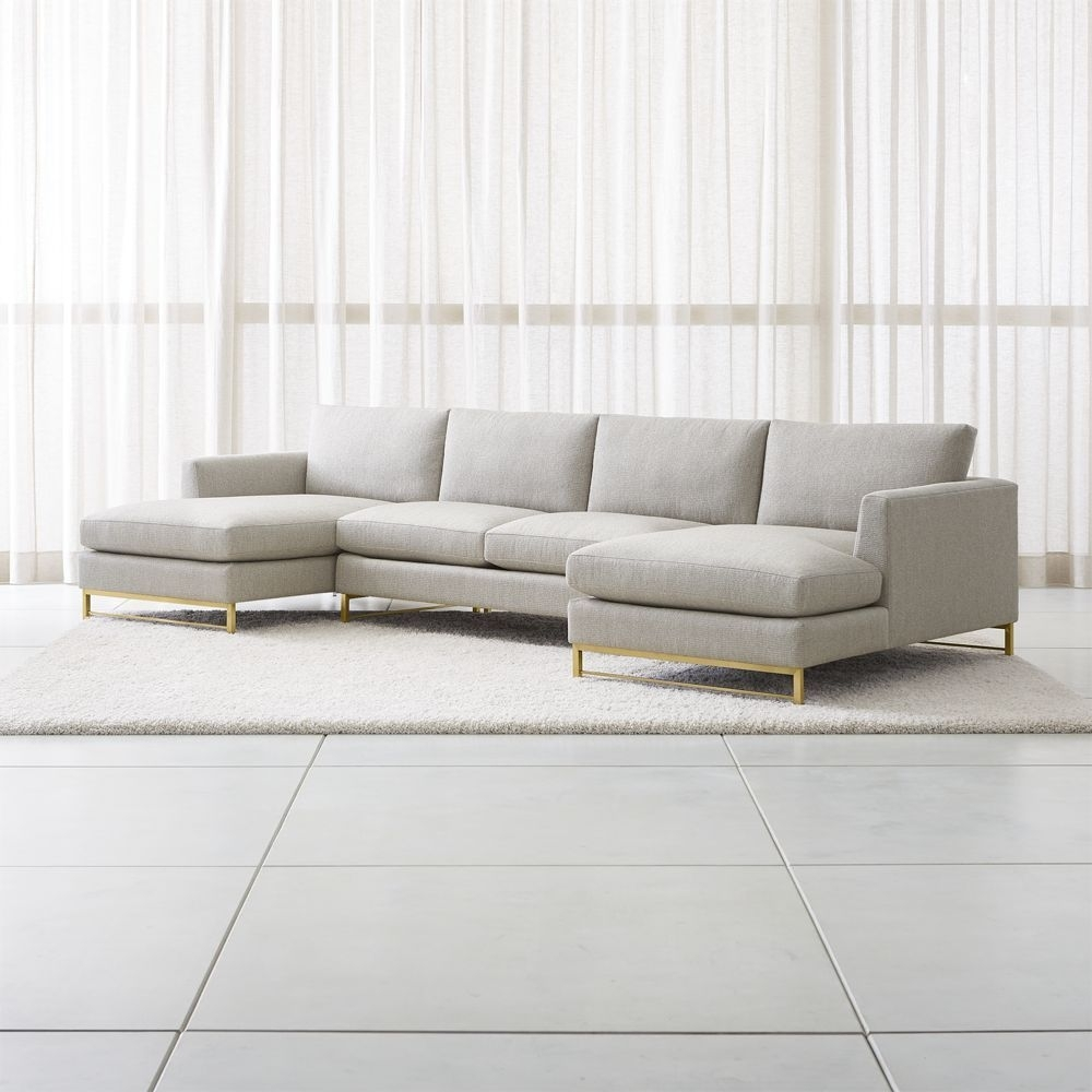 Outdoor Pompeii 3 Piece Sectional For Whitley 3 Piece Sectionals By Nate Berkus And Jeremiah Brent (Image 19 of 25)