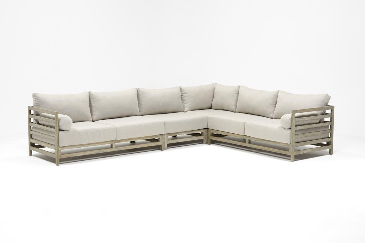 Outdoor Pompeii 3 Piece Sectional Inside Whitley 3 Piece Sectionals By Nate Berkus And Jeremiah Brent (Image 22 of 25)