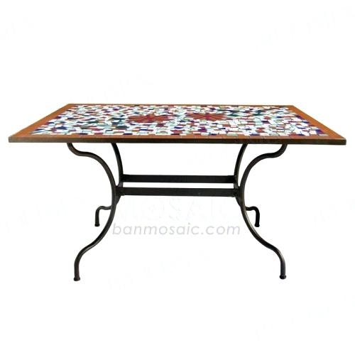Outdoor Rectangular Dining Table Helms Rectangle Dining Table For Helms Rectangle Dining Tables (Image 20 of 25)