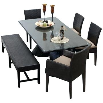 Outdoor Rectangular Dining Table Helms Rectangle Dining Table Pertaining To Helms 6 Piece Rectangle Dining Sets (View 2 of 25)